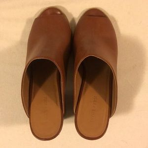 silence + noise Shoes - Silence & Noise Brown Mules